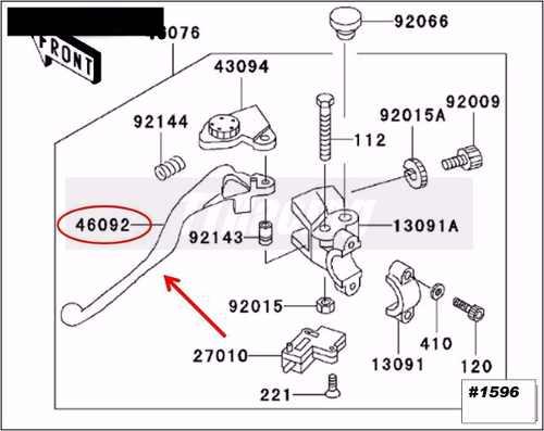 Manete Embreagem Kawasaki ER6n / Versys 650 / Ninja 650