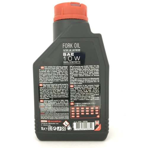 Motul Fork Oil Factory Medium 10w Bengala 100%sintético 1lt