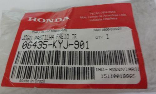 Jg Pastilha Original Honda Nissin Cb 300 Sem Abs Dianteira e Traseira
