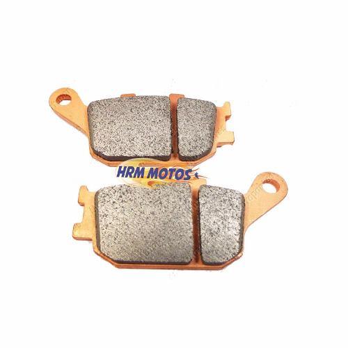 Pastilha Freio Traseira Nissin Honda Original para Hornet / NC 700X / Transalp / CB 1300 / CB 300R com ABS