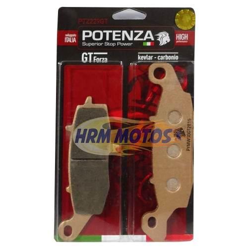 Pastilha Freio Potenza PTZ229GT Kevlar/Carbono