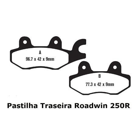 Pastilha Kawasaki Ninja 250/300/Z300 Dianteira Ou Traseira Potenza PTZ165GT