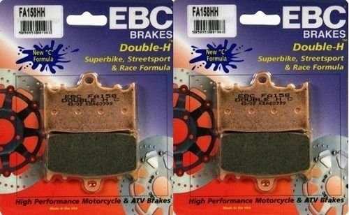 Jg Pastilha Freio Ebc BANDIT 650/1250/GSX 650F/Versys 1000/Zx-6R Dianteiro