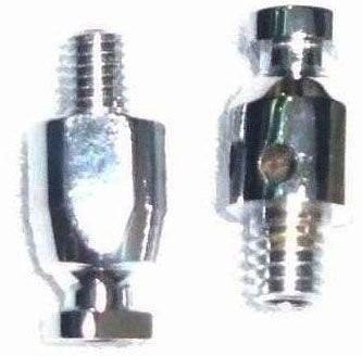Pisca Foguete/Bullet para Custom Preto Fosco (1 Par) + Adaptador Manete