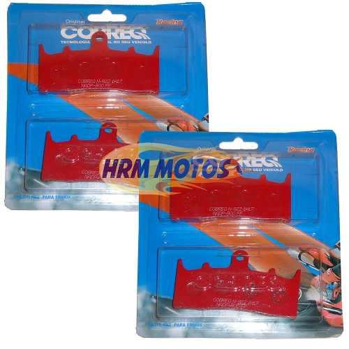 Jg Pastilha Dianteira Bandit 1200 01-04/GSX-R 750 94-99/GSX-R 1000 01-02 Cobreq Racing