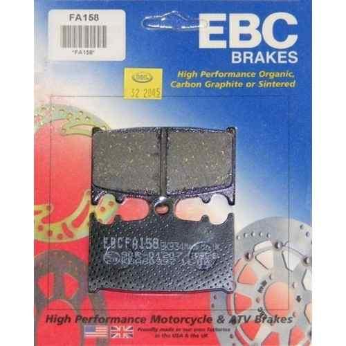 Pastilha Freio EBC Bandit 650/1200/1250/GSX 650F/ZX/Versys 1000 FA158