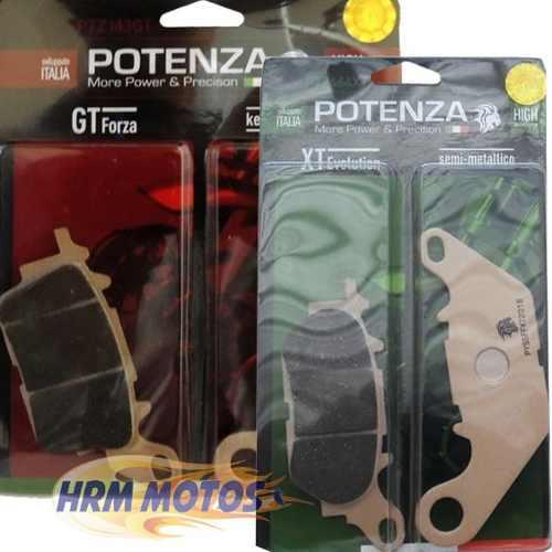 Jg Pastilha Freio Yamaha Nmax 160 Potenza