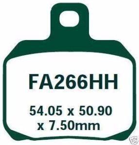 Jg Pastilha Freio Ebc Ducati 1198/Monster 09-12 Fa266hh+fa447hh