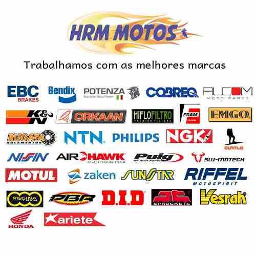Jg Pastilha Freio Cbr 600f 2011-2014 sem ABS Completo Potenza