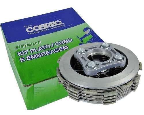 Kit Embreagem Cubo Plato E Disco Cobreq Honda Cbx 200/xr 200