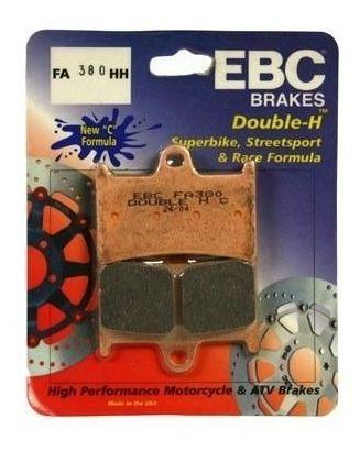 Pastilha Freio Ebc R1/r6/xtz1200/fazer 1000/tdm 900 Fa380hh