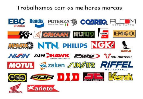 Jg Pastilhas Freio Xre 300 2019-2020 com ABS Diant/tras Potenza