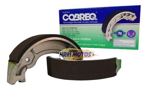 Lona Freio Biz / Nxr Bros 125/150 Traseira Cobreq 0320-cp