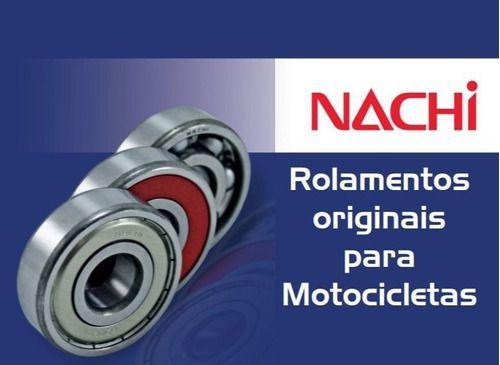 Kit Com 3 Rolamentos Roda Traseira Honda Cb 500 1998-2003
