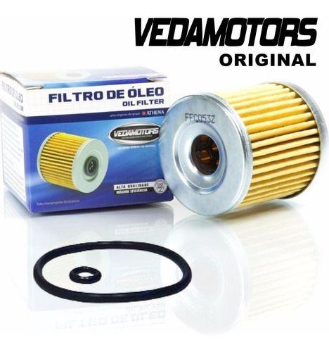 Kit Filtro De Ar E Filtro De Óleo Cb 300 Vedamotors
