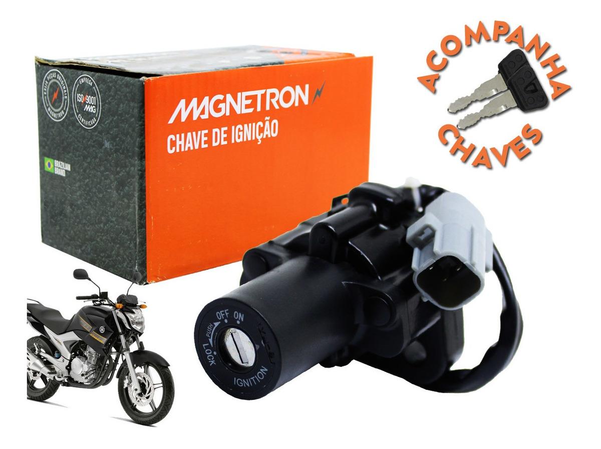 Chave de Ignição Magnetron Fazer 250 2011 à 2015
