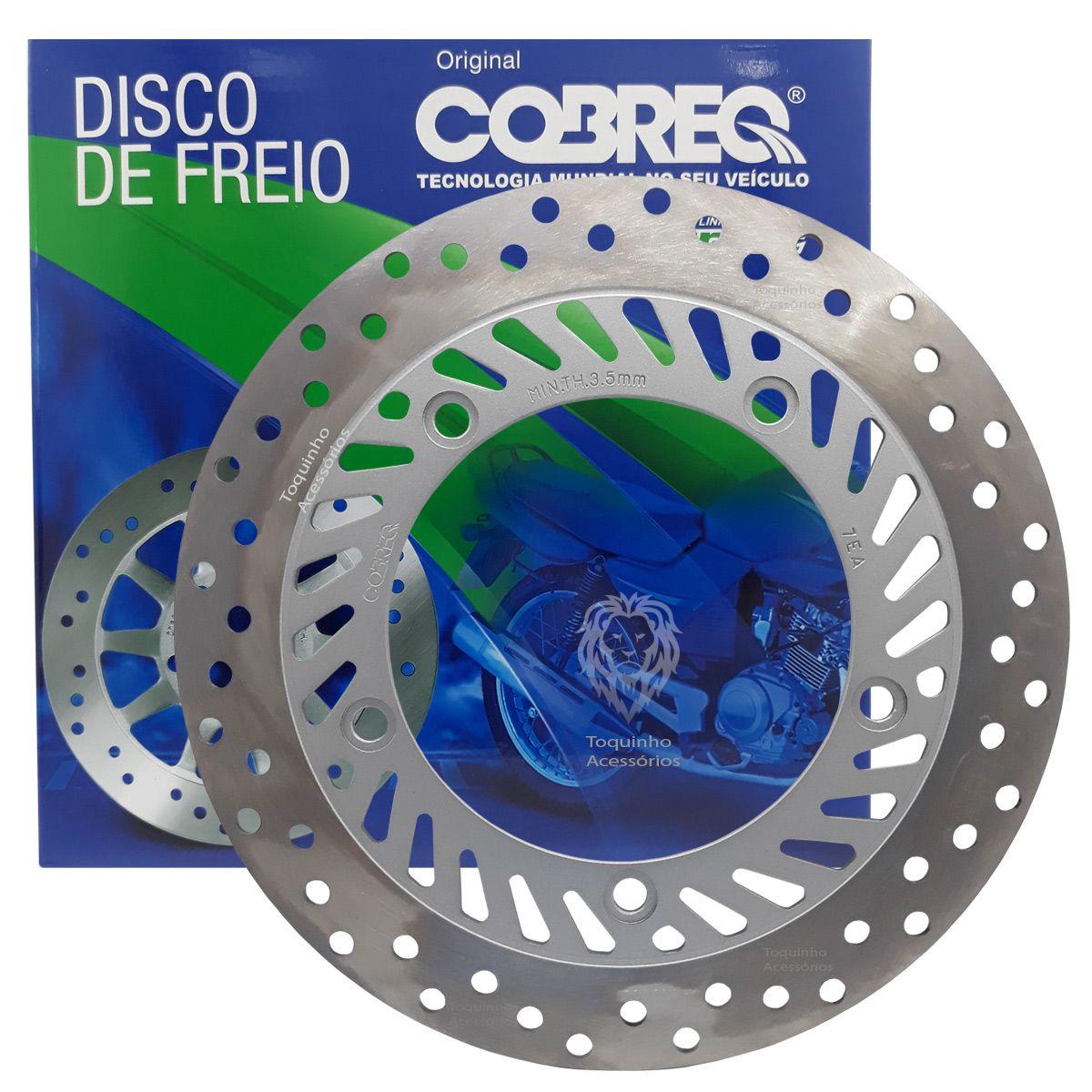 Disco De Freio Dianteiro CB 300 Cobreq