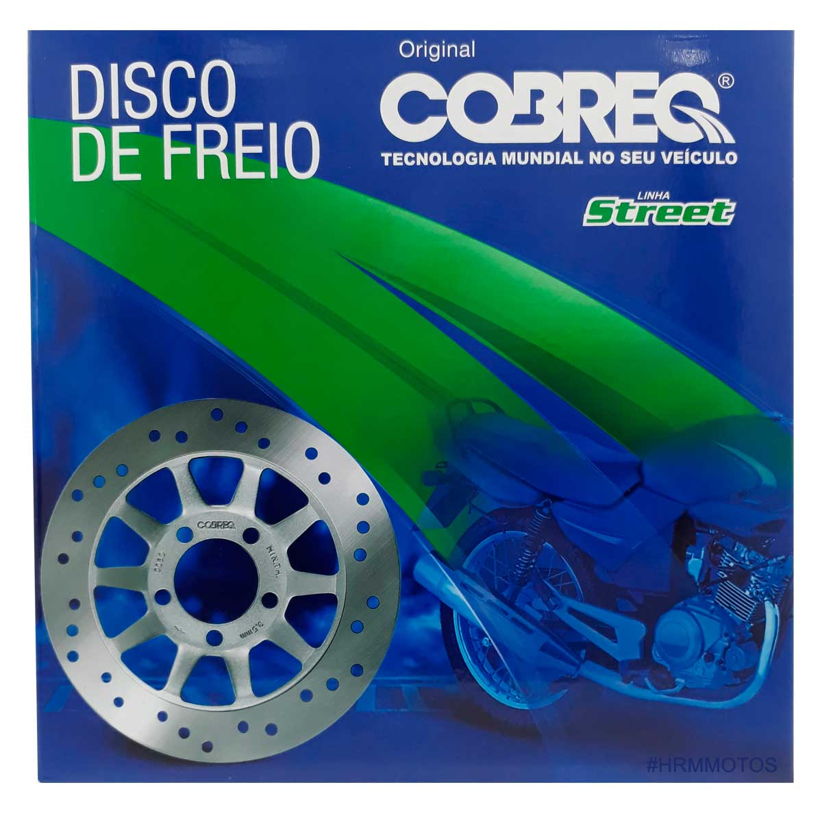 Disco De Freio Dianteiro Fazer 250 até 2017 Yamaha Cobreq