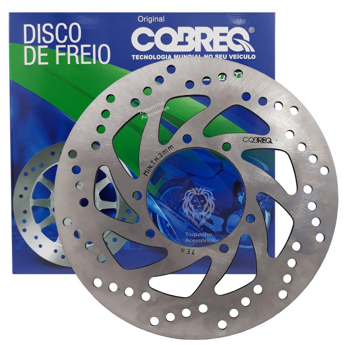 Disco De Freio Dianteiro Lander e  Tenere 250 até 2018 Yamaha Cobreq