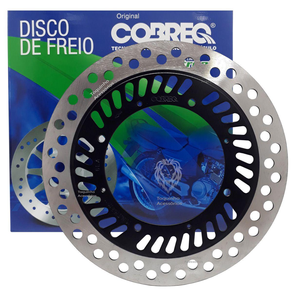Disco De Freio Dianteiro XR 250 Tornado Cobreq