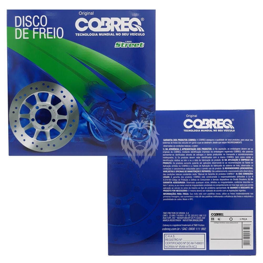 Disco De Freio Traseiro CBR 250R 2012-2014 Cobreq