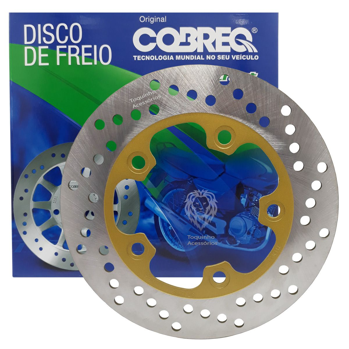 Disco De Freio Traseiro Next 250 Cobreq