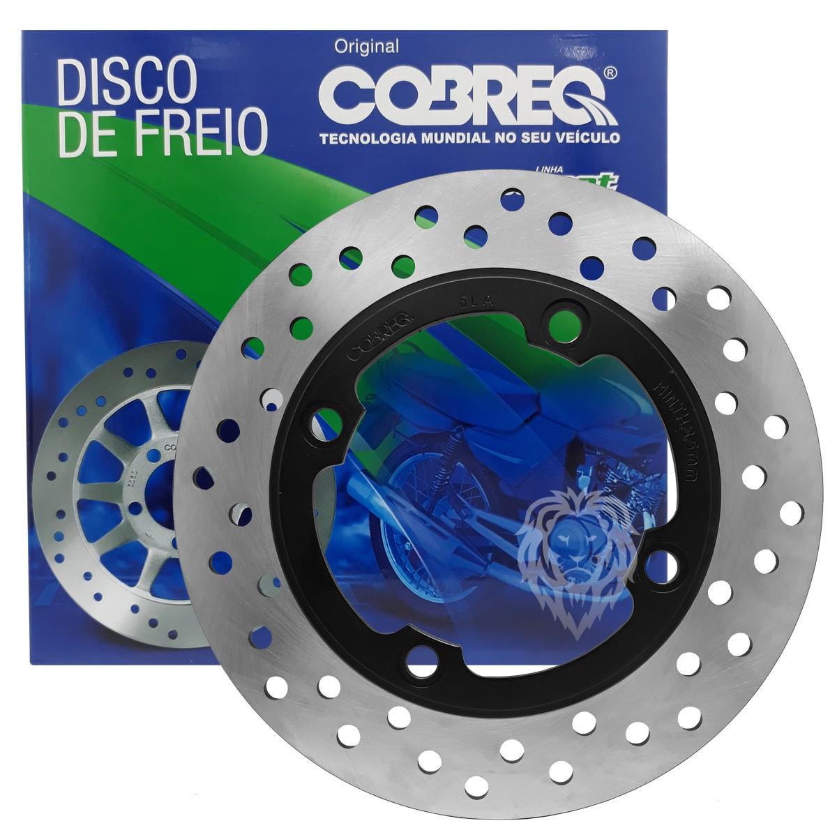 Disco De Freio Traseiro NX 400 Falcon Cobreq