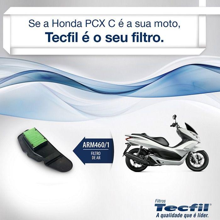 Filtro de Ar Honda Pcx 150 2012-2018 Tecfil