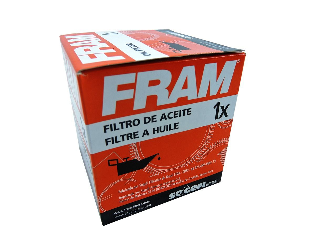 Filtro De Óleo FRAM para Yamaha MT-03/R3 2014-2019 - 02 Unidades