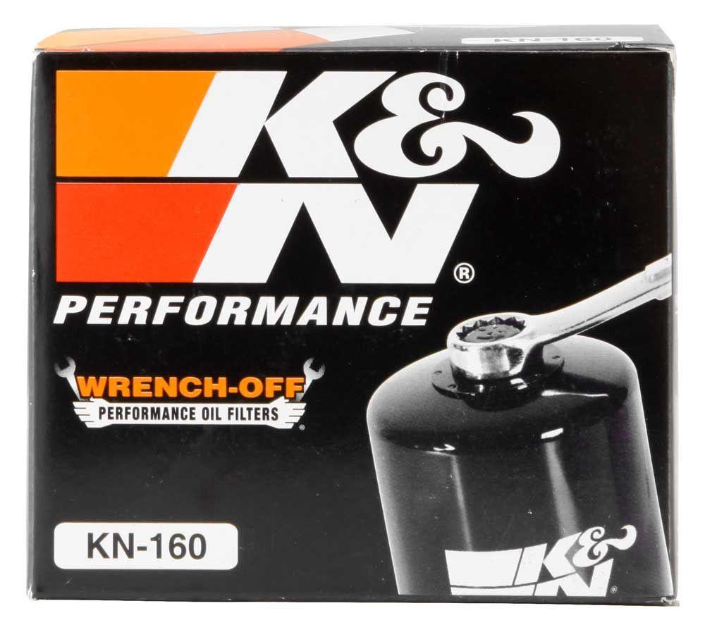 Filtro De Óleo K&n Alta Performance Bmw F800r/s1000rr/F800 GS/R 1200GS 13-18 Kn-160