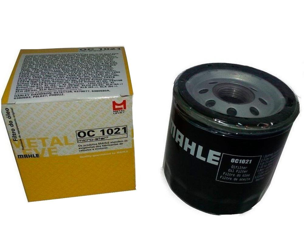 Filtro De Óleo para Harley Davidison Mahle OC1021