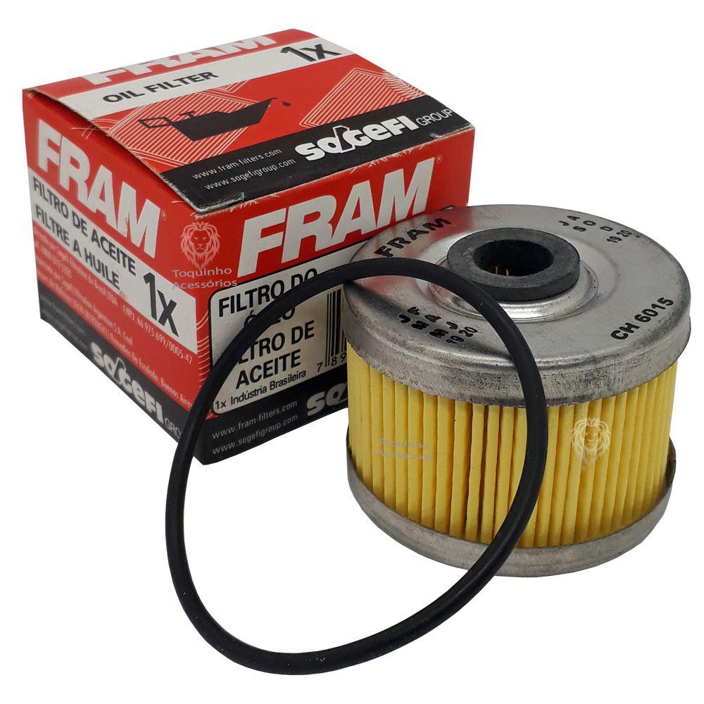 Filtro de Óleo XRE 300/NX 400/Twister/CB 300  Falcon FRAM