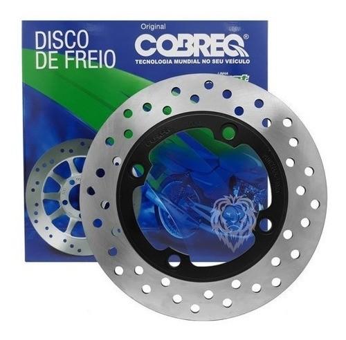 Kit Discos Freio D/t Nx 400 Falcon Cobreq+kit Pastilhas POTENZA