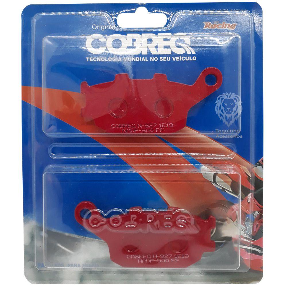 Jg Pastilha Completo NC 700X/CB 300/XRE 300 com ABS Cobreq Racing