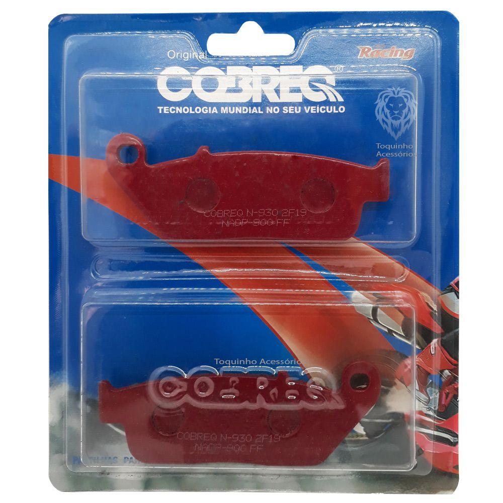 Jg Pastilha Dianteira e Traseira CB500R/X/F/NC 750X/CBR 250 Cobreq Racing