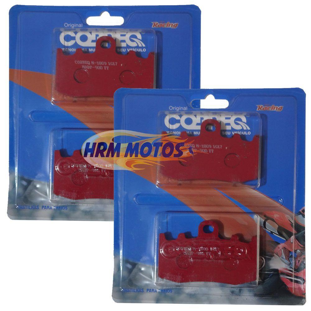 Jg Pastilha Freio BMW R1200 GS até 2012 / BMW R1200 Adventure até 2012 Cobreq Racing