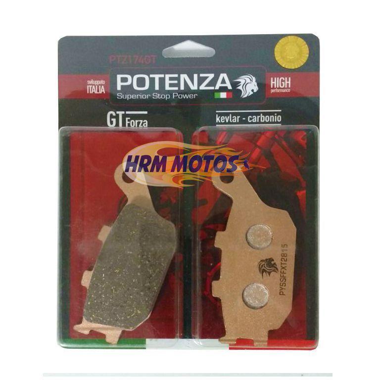 Jg Pastilha Freio Cb600f Hornet Até 2007 Potenza (kit para os 3 discos)