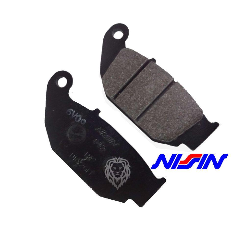 Jg Pastilha Freio Cb 250f Twister 16-18 Nissin Honda