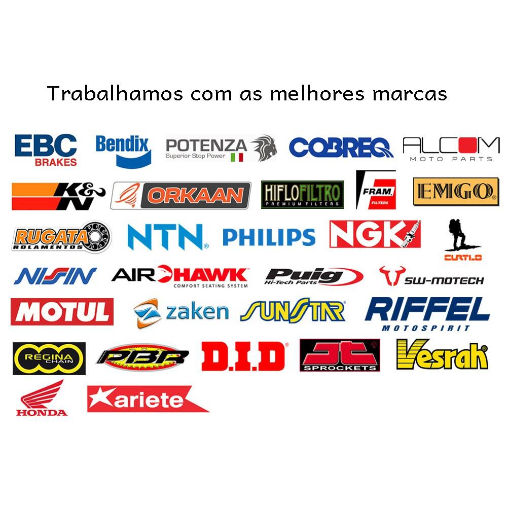 Jg Pastilha Freio Cerâmica Versys 1000 Completo Cobreq Racing Extreme