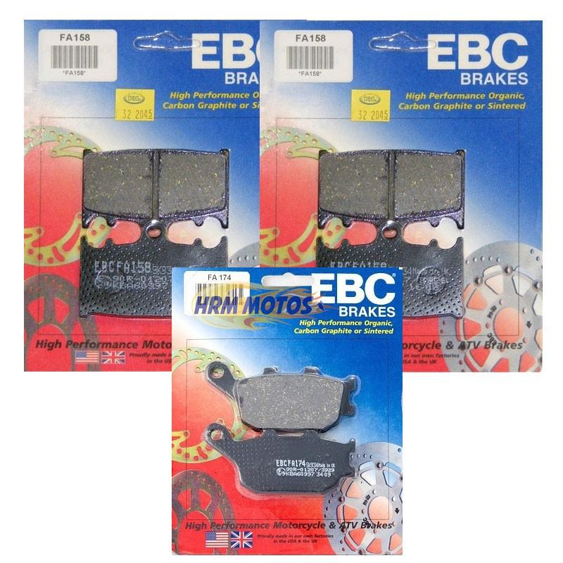 Jg Pastilha Freio Ebc Bandit 650/1250/GSX 650F/Versys 1000 Diant/Tras