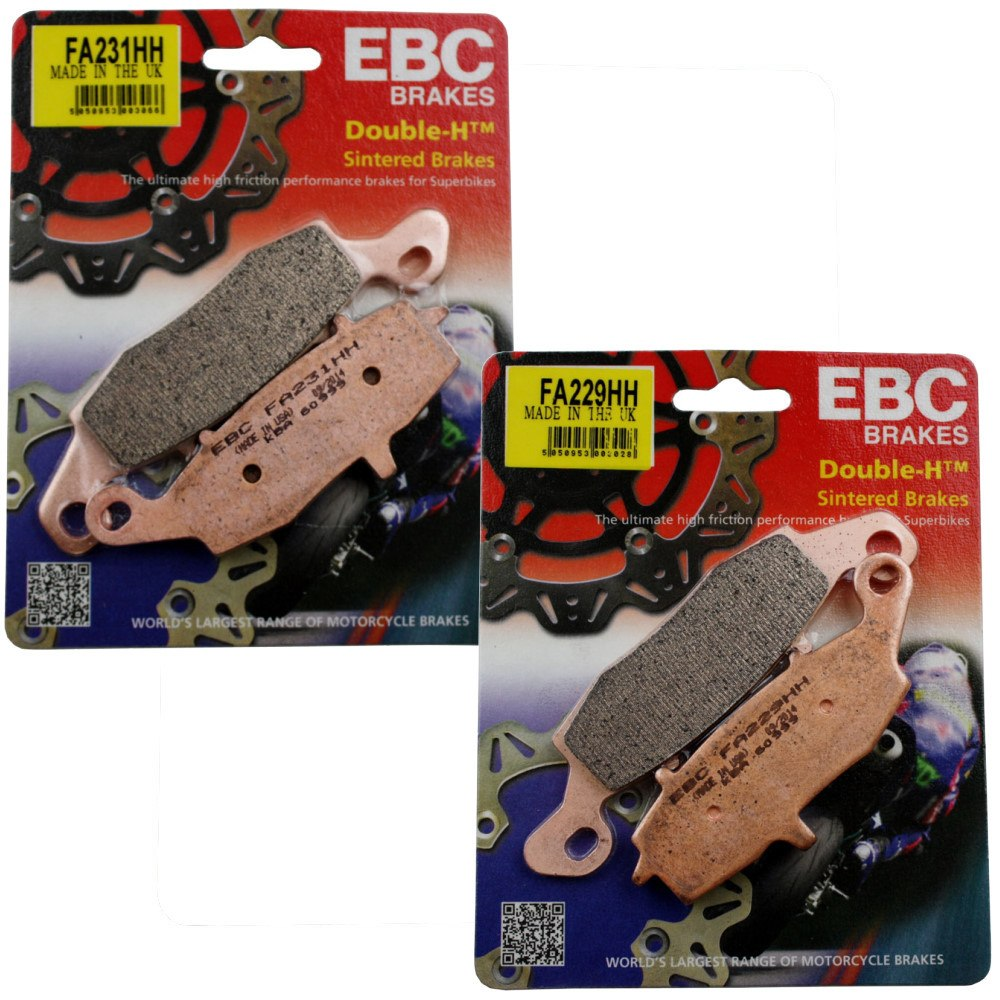 Jg Pastilha Freio EBC ER6N/Versys650/Ninja 650/VStrom/GSR750 Dianteira Sinterizada