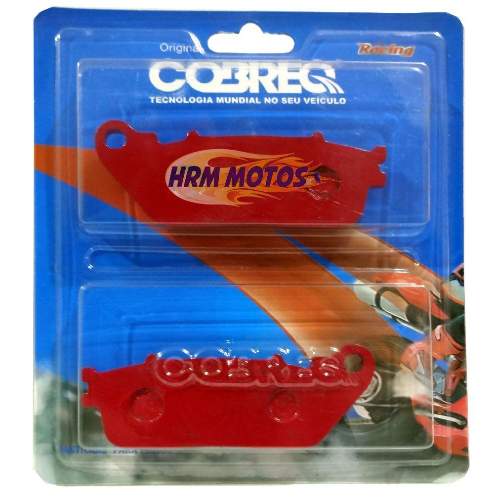 Jg Pastilha Freio Honda CB 1000R com ABS Cobreq Racing