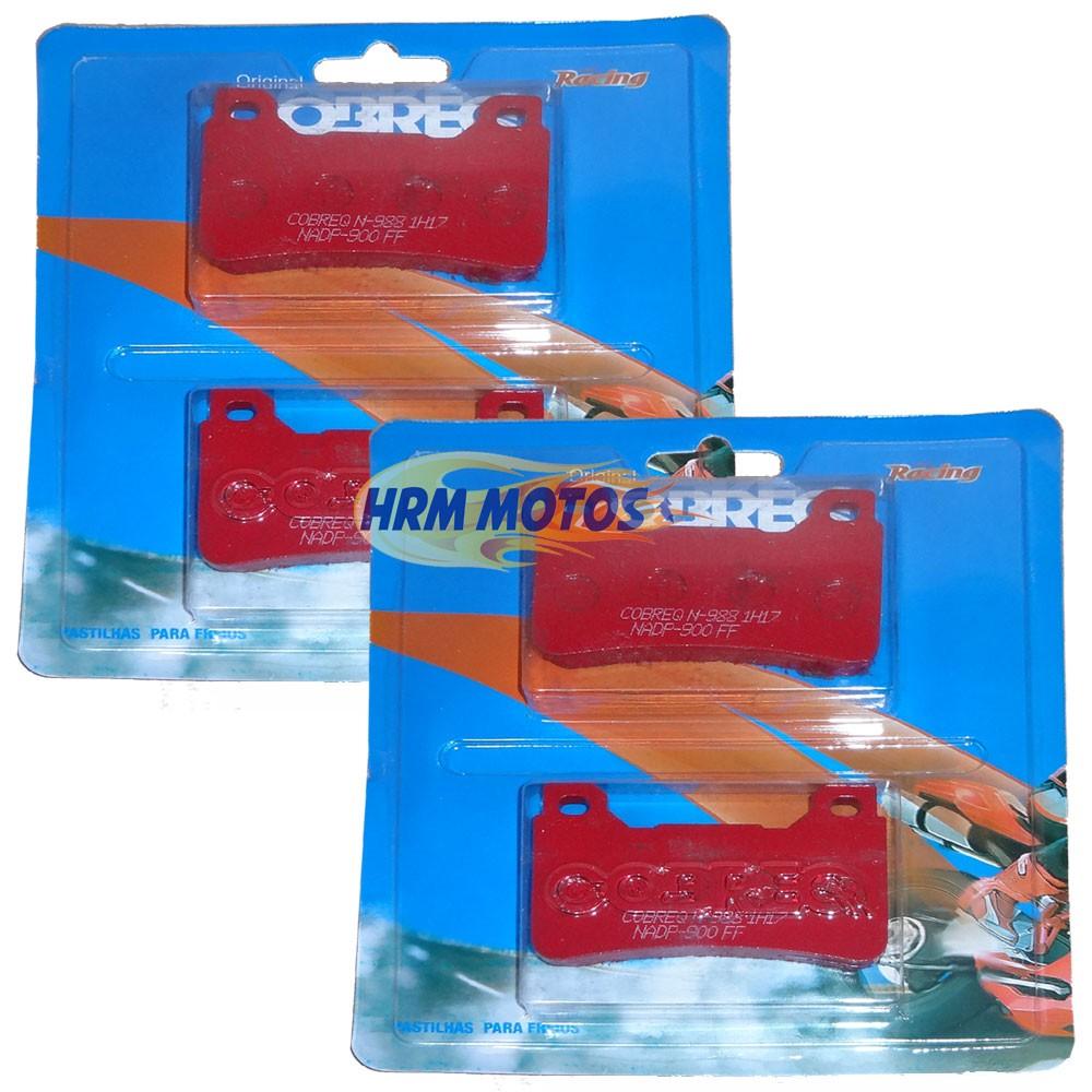 Jg Pastilha Freio Honda CBR 600RR/1000RR 07-14 Cobreq Racing