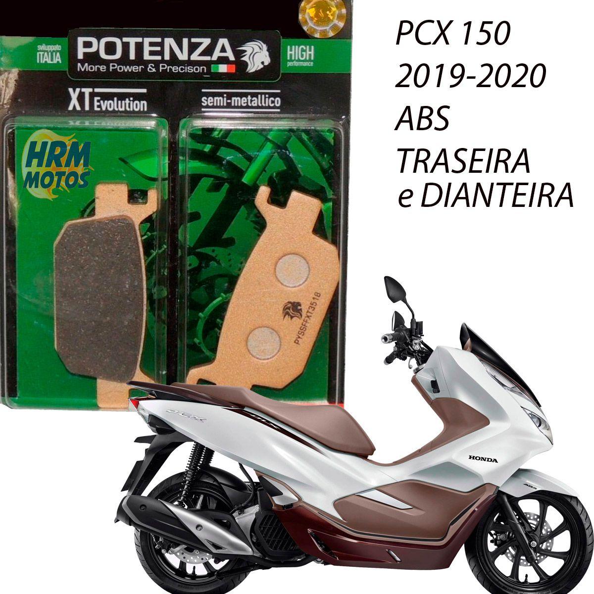 Jg Pastilha Freio PCX 150 2019/2020 ABS Potenza