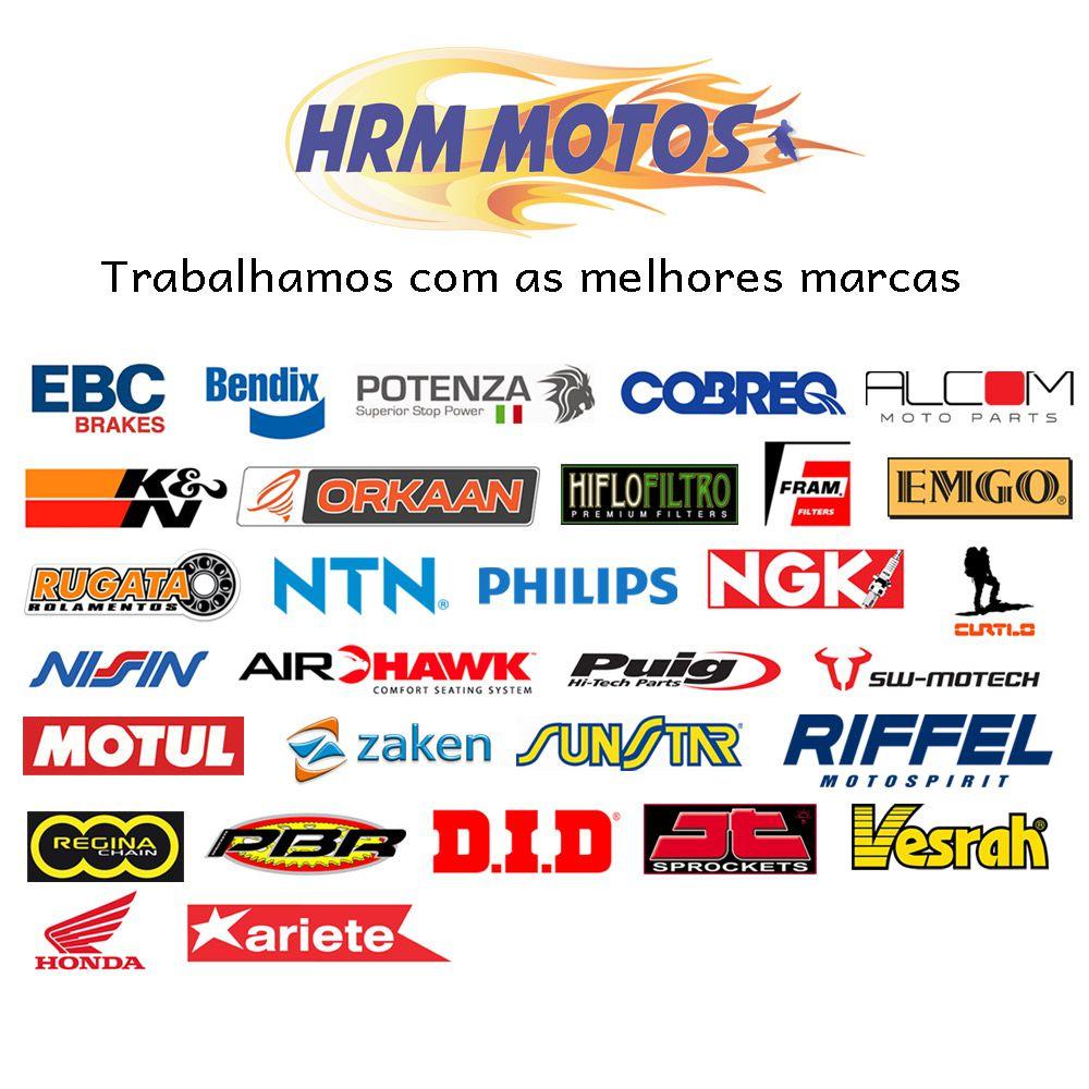 Jg Pastilhas Freio Dianteiro EBC Burgman 400 08-15 (para motos com 2 discos de freio na frente)