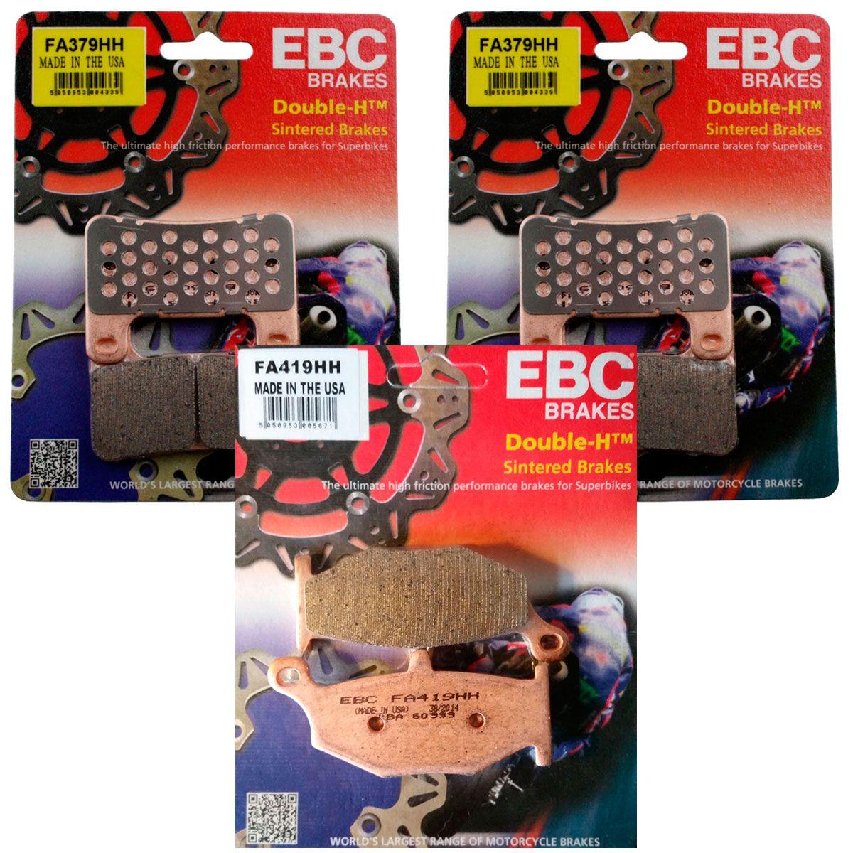 Jg PastilhaS Freio Ebc GSX-R 750/1000/VStrom 1000 2104-2018 Completo