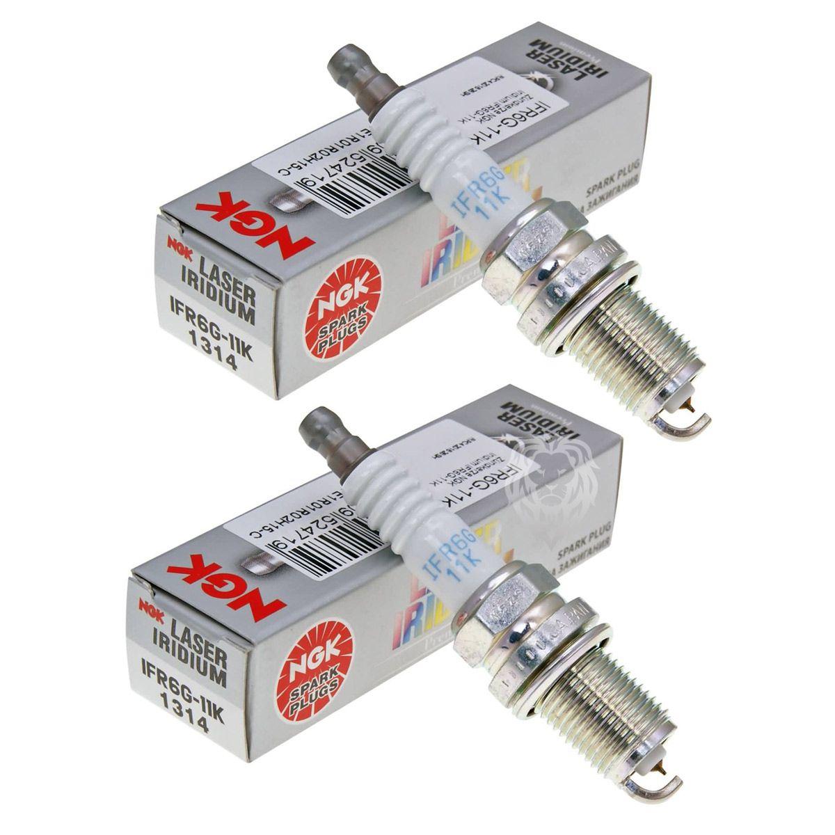 Jg Velas Ngk Laser Iridium NC 700x NC 750X (par) IFR611K