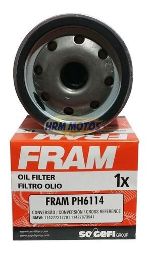 Kit 3 Lts Óleo Motor Motul 5100 15w50 + Filtro Oleo Fram Ph6114 Moto Bmw F800 GS/F800R