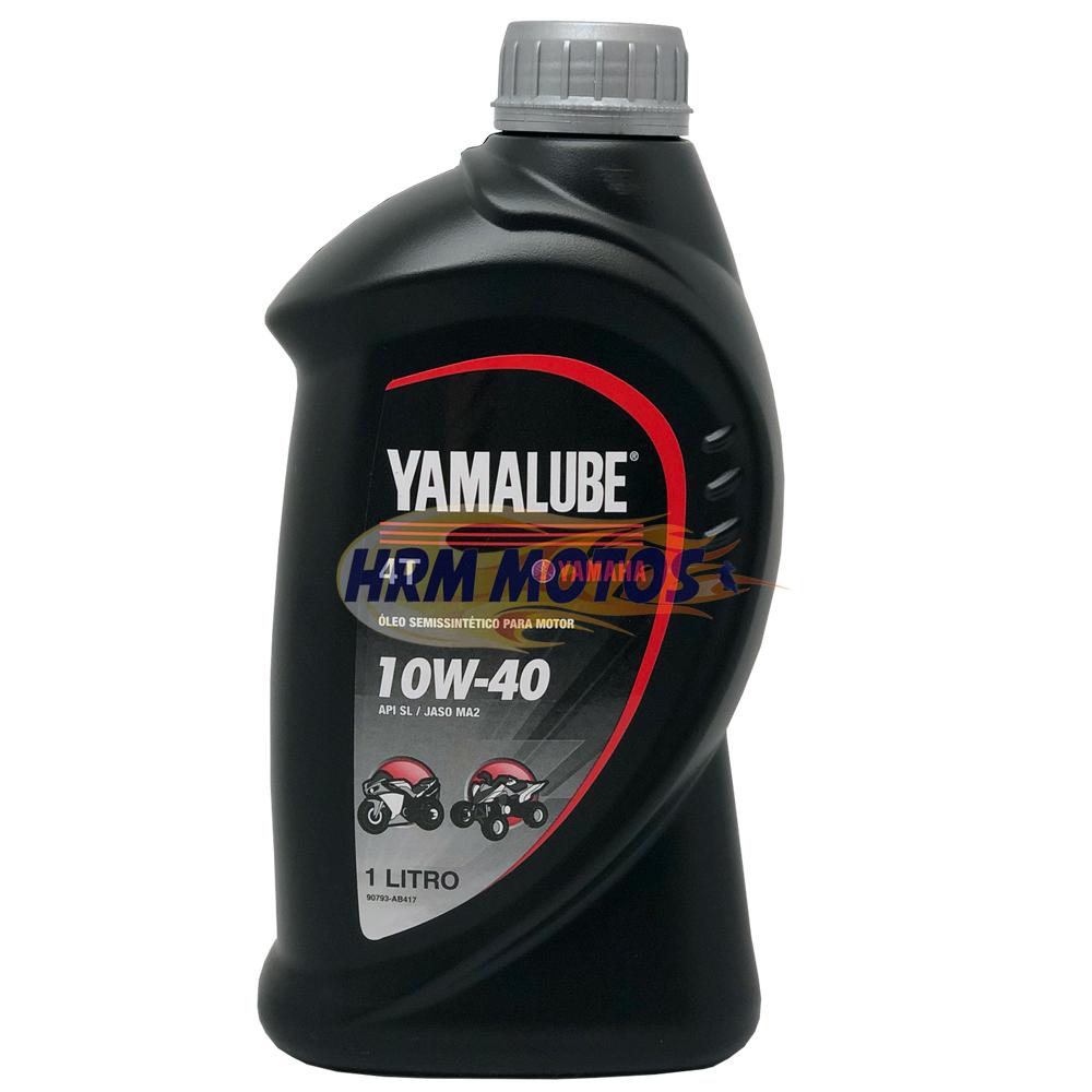 Kit 4 Litros Óleo Yamalube 10w40 Semi-sintético