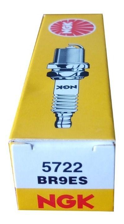 Kit 4 Velas Ignição NGK BR9ES Turbo Nitro Aspirado Carros